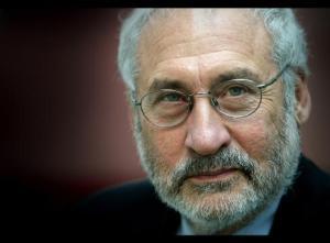 Joseph Stiglitz. En av författarna till EU-rapporten om hur vi mäter ekonomiska resultat och sociala framsteg.Bild från infiniteunknown.net