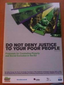 Kyrkan diskuterar den växande fattigdomen i Europa. Var finns Socialdemokraterna i den debatten?