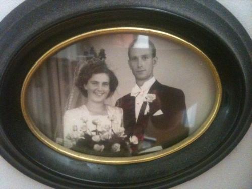 Mina föräldrar Evy och Alvar - lärare under en tid då läraryrket respekterades som en profession