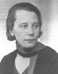 Karin Kock; en av de kvinnor som en gång drev kampen för gifta och gravida kvinnors rätt till arbete.