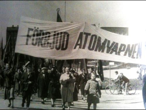 Kampen mot atomvapen, 1950-talet